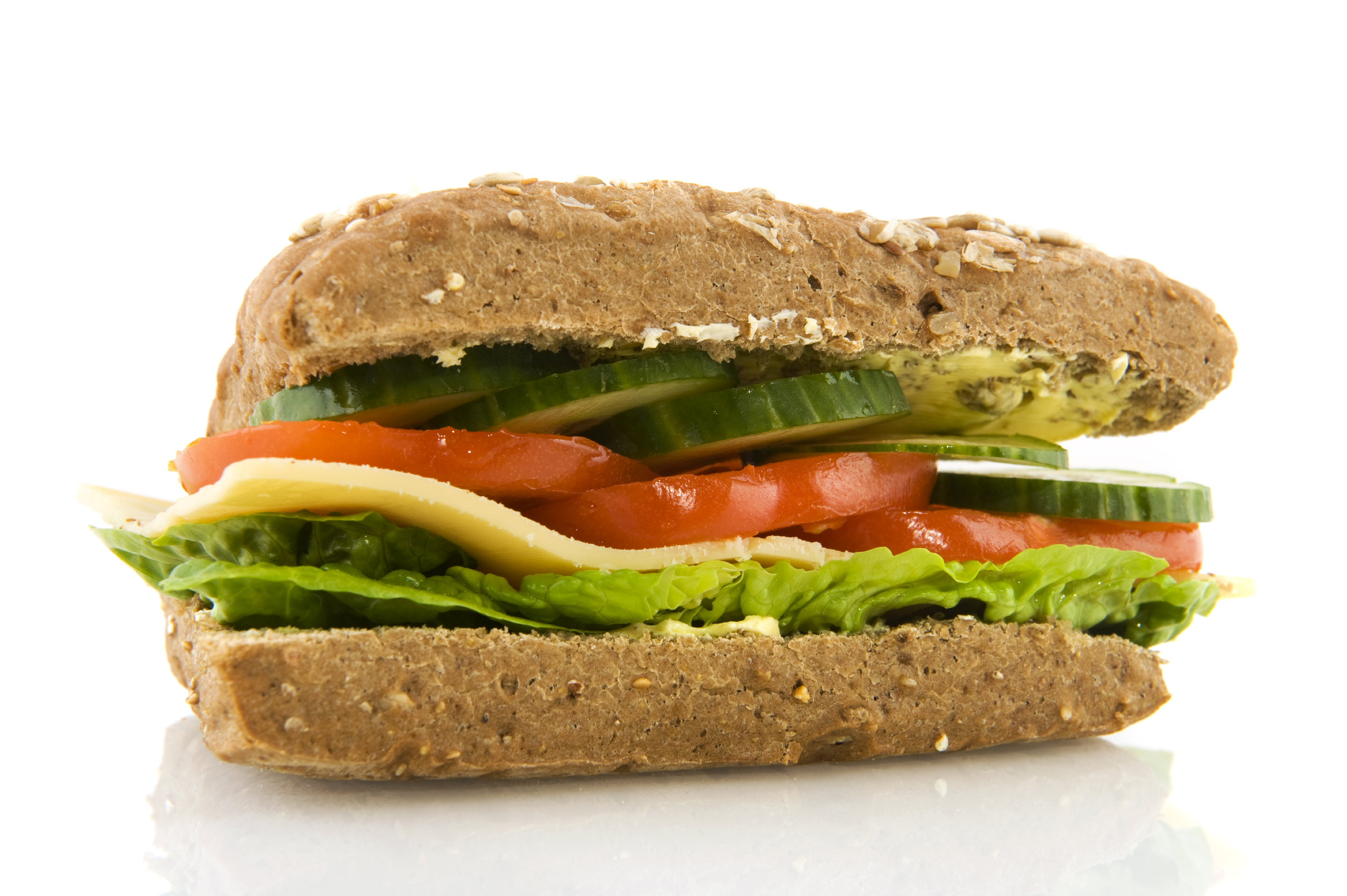 how to make a healthy sandwich step by step